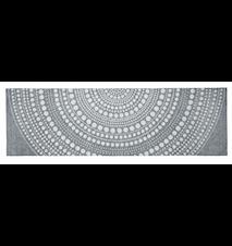 Kastehelmi bordløper 144x44 cm mørkgrå