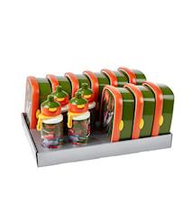 Matlådsset inkl. vattenflaskor Flygplan 13-delar