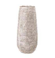 Vase Steintøy Natur Ø13 cm