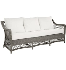 Marbella 3-sits soffa inkl. dynor - Vintage