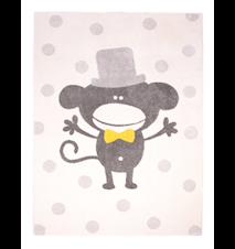 Polka Monkey matta