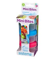 Mini Bites To Go 3 pack