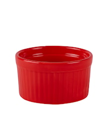 Ramekin Stengods Röd 8,5x5 cm/0,15 liter
