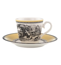 Audun Ferme Kaffe/Tekopp&Fat 2 delar