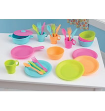 27-piece bright cookware set