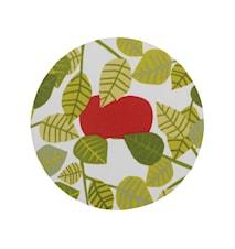 Apple Grytunderlägg Grön Ø 21 cm