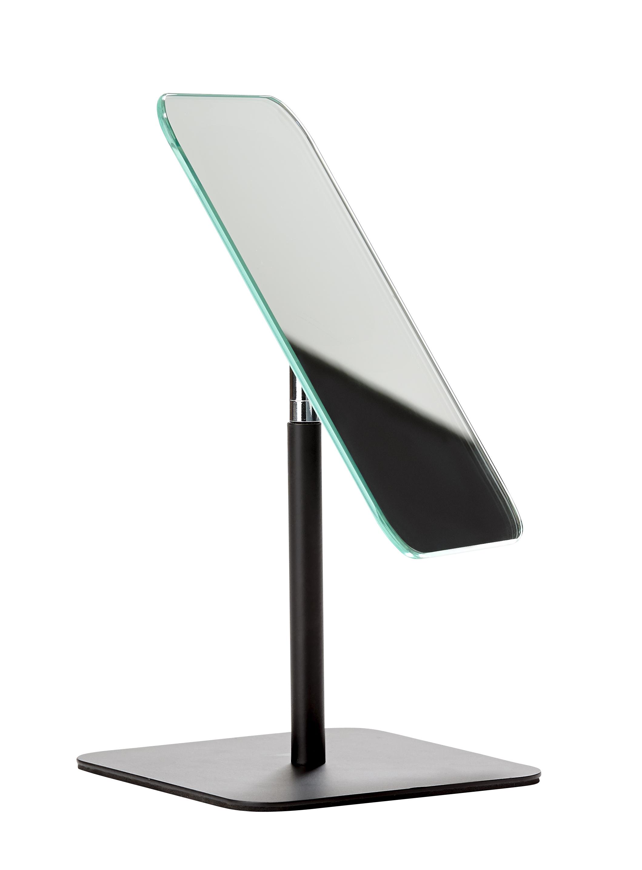 Bordsspegel Metall Svart 28,5x12,5 cm
