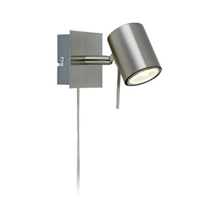 Bild av Markslöjd Hyssna LED Vägglampa Stål
