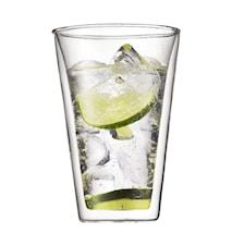 Dubbelväggade Glas 2 st 40 cl