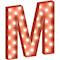 Cirkuslampan Stor - M - Röd