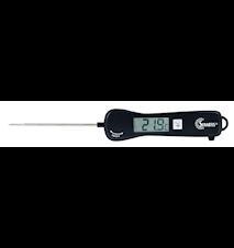 Talande hushålls- och BBQ termometer, svart