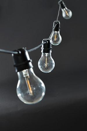 Function Ljusslinga Svart 10 LED
