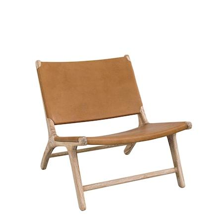 loungestol Köp Cristo Loungestol Brunt Läder online | KitchenTime loungestol