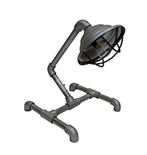Vintage metal bordslampa