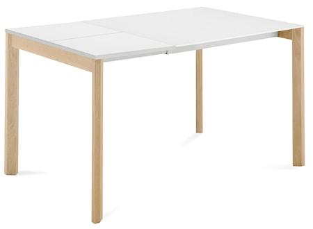 Bild av Domitalia Web 90 matbord ? Ask/Vitt glas