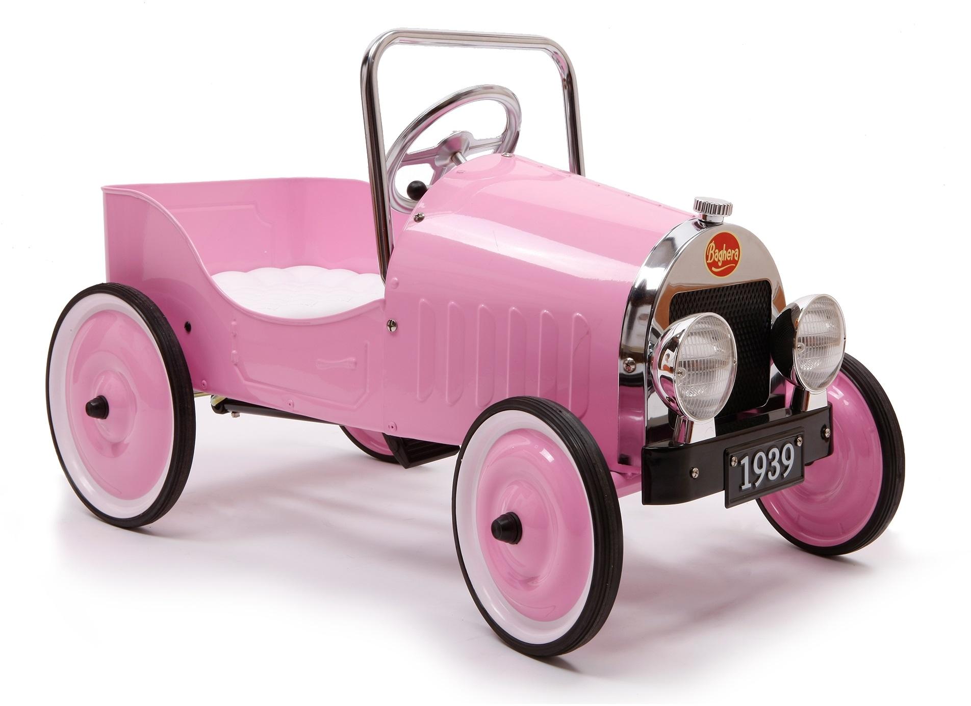 Classic pink trampbil
