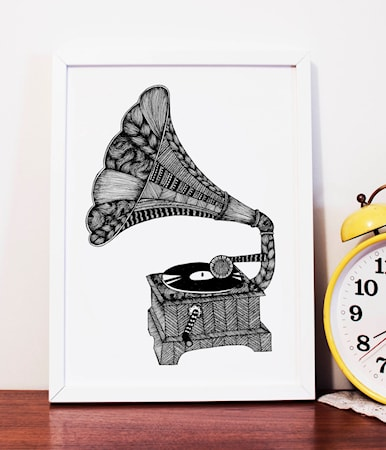 Grammofon poster