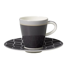 Caffe Club Uni steam Espresso Kopp&Fat 2pcs
