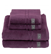 Premium Terry Ansiktshandduk 30X50 Potent Purple