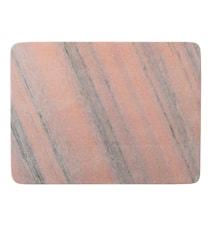 Skärbräda Marmor 40 cm - Rosa