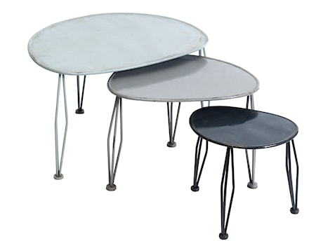3 shaped tables S/3