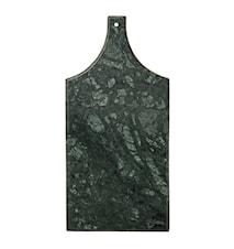 Skærebræt Marmor Grøn 35x16x1 cm