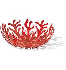 Mediterraneo Fruktkorg Ø 29 cm Röd