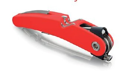 Vacuvin Single Pull Korkkiruuvi punainen