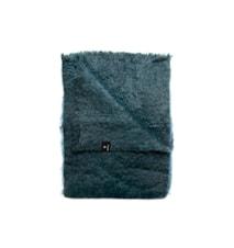 Mohairpläd Lawrence 120x170cm blå