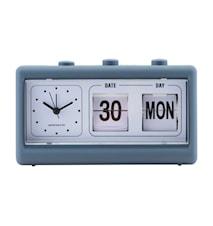 Retro klocka - blå