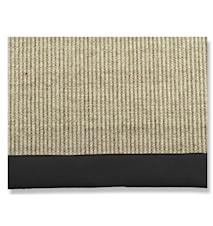 Artwood sisal black matta