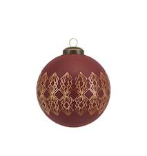 Ornament Art Ø 8 cm - Henna