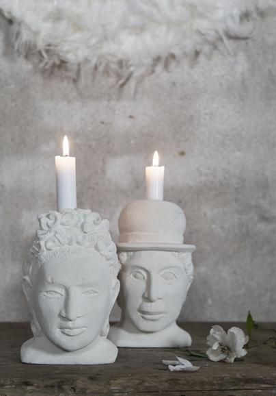 LW Icons ljusstake - Frida Kahlo