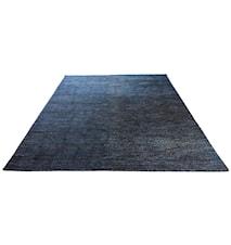 Silk handvävd matta – Mörkblå