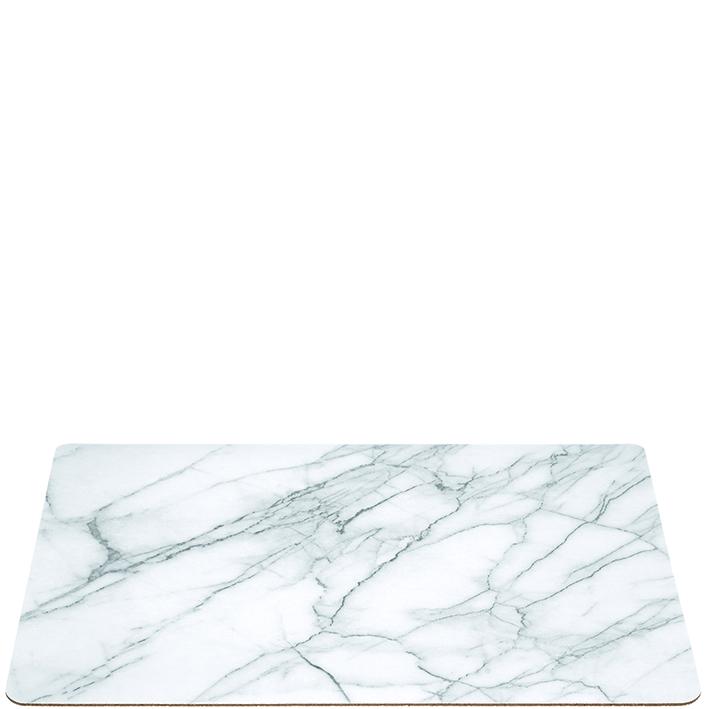 Tablett Kork Marmor 33x46 cm