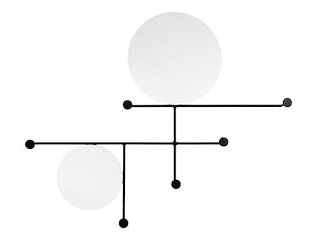 Spegel med Klädhängare Circles