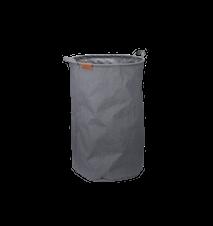 Tøyoppbevaring rund d38 h60, grå