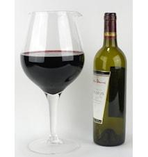 Astoria- Glaskaraff formad som ett glas