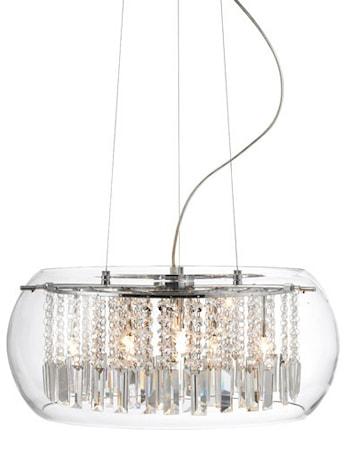 Bild av Markslöjd Sundholmen Lampa 6 Ljus Krom