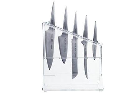 Knivställ Solsidan, plats för 5 knivar