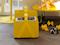 Box tidningsställ mini - Yellow