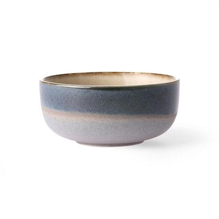 70's Skål Medium Keramik Blå 23 cl