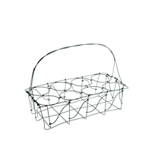 Glashållare 27x13 cm - Natur