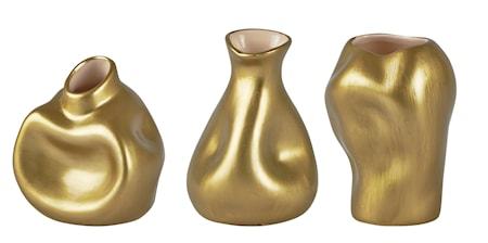 Bild av KJ Collection Vas Mässing 10 cm