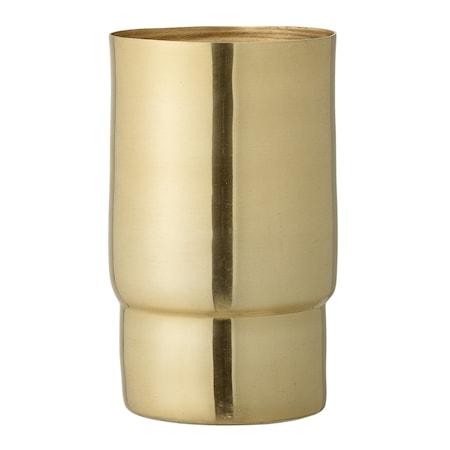 Bild av Bloomingville Vas Guld Metall 10x17cm