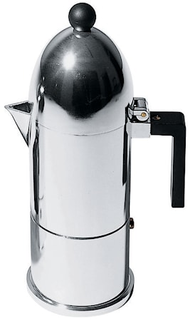 La Cupola Espressobryggare Svart 3 koppar