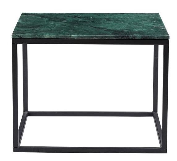 Marble soffbord - svart underrede