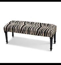 Zebra Bänk 40x100 Svart