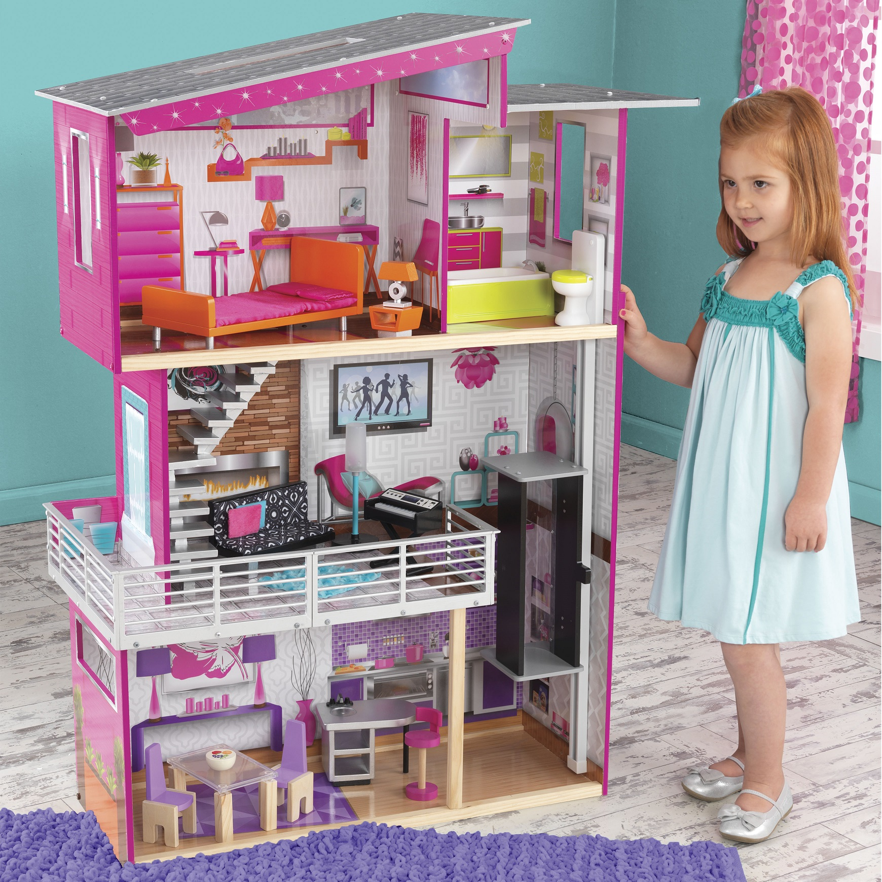 Luxury Dollhouse with lights and sound