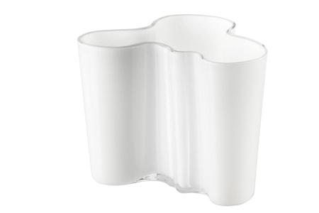 Aalto Vase Hvit 120 mm